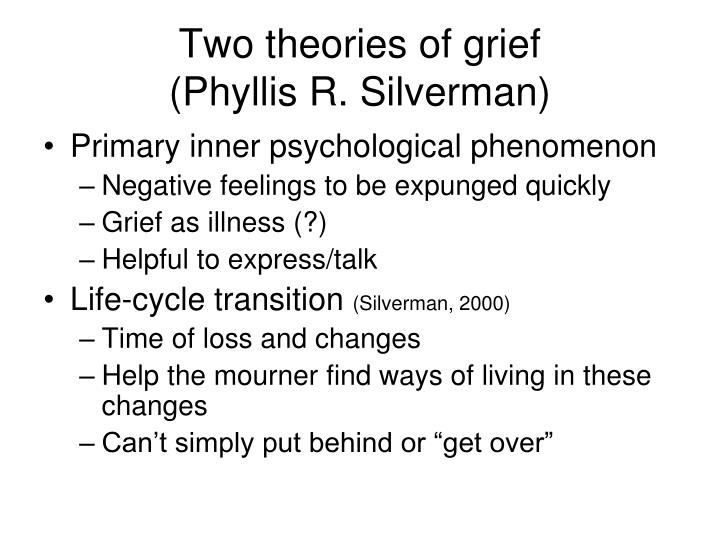 Two theories of grief