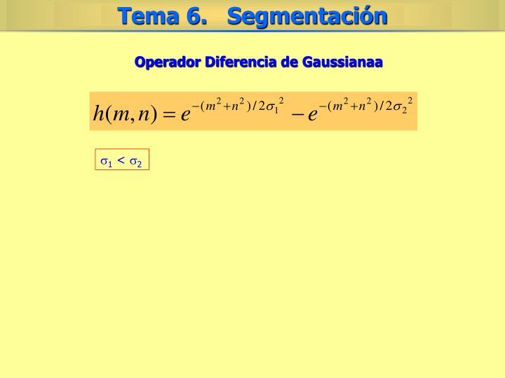 Operador Diferencia de Gaussianaa