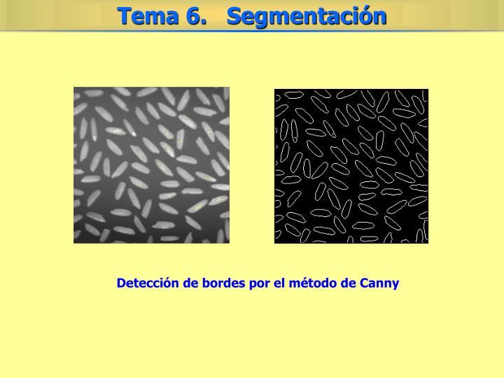 Detección de bordes por el método de Canny