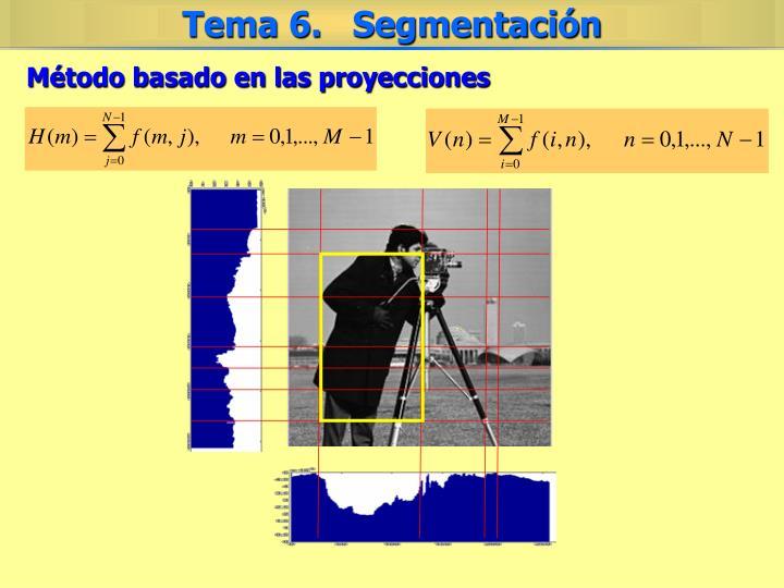 Método basado en las proyecciones