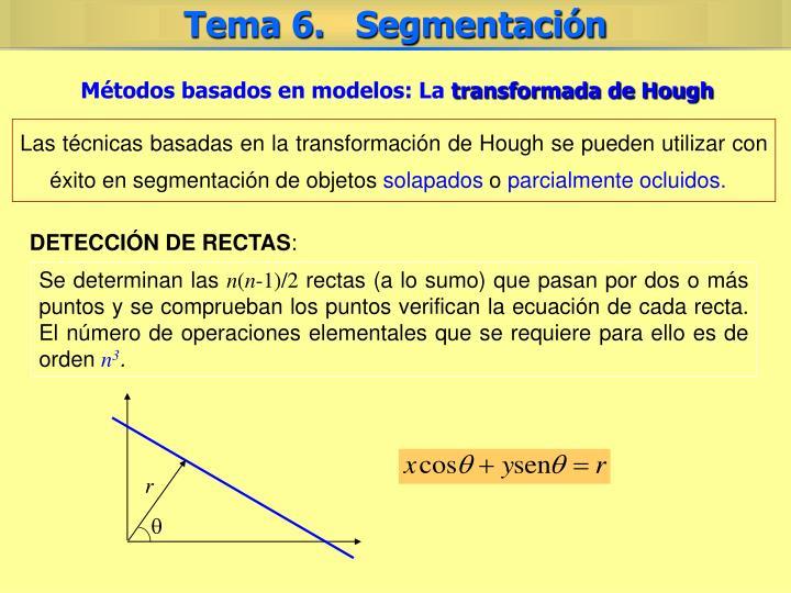 Métodos basados en modelos: La