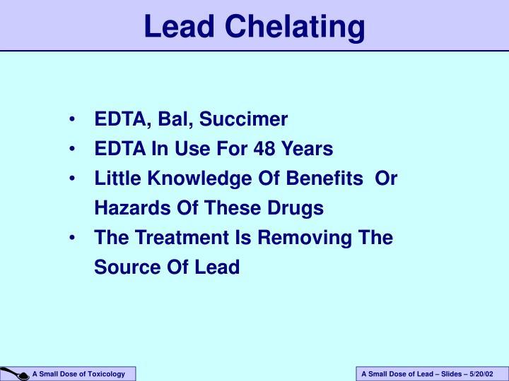 Lead Chelating