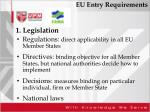 eu entry requirements