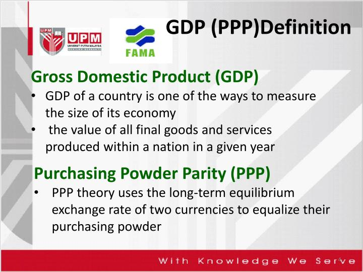 GDP (PPP)Definition