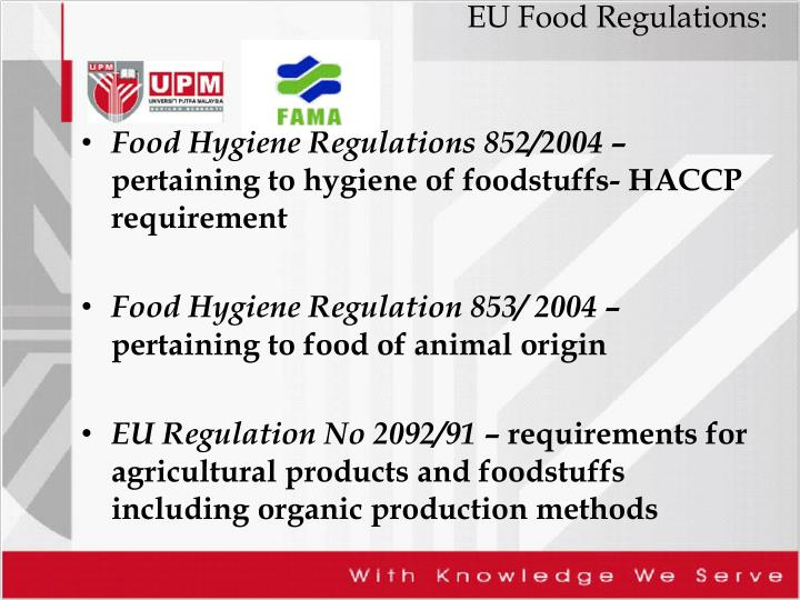 EU Food Regulations: