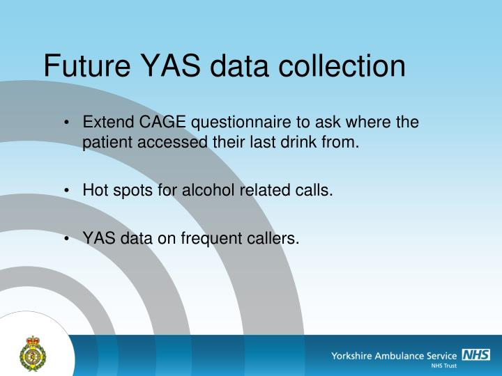 Future YAS data collection