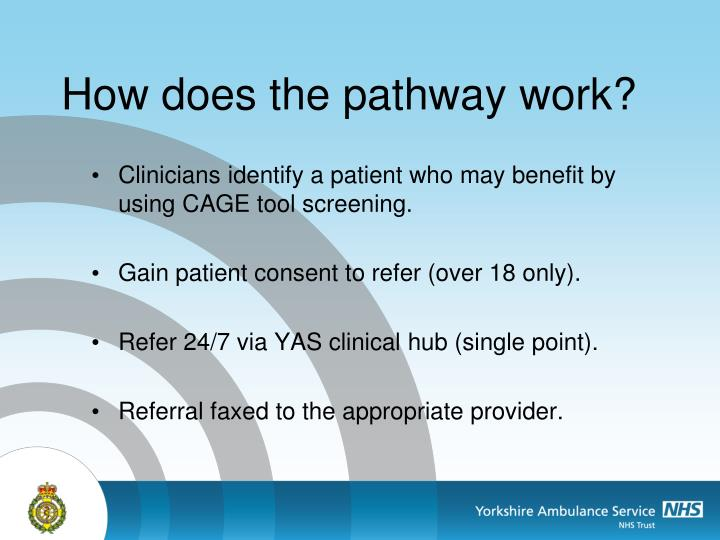 How does the pathway work?