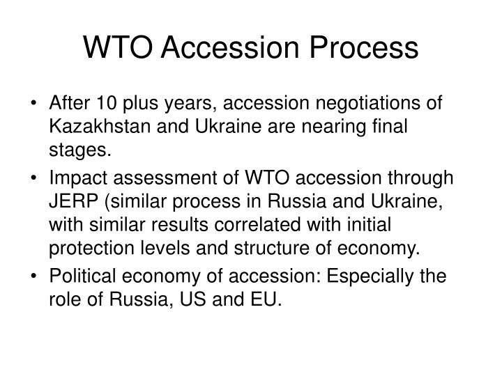 WTO Accession Process