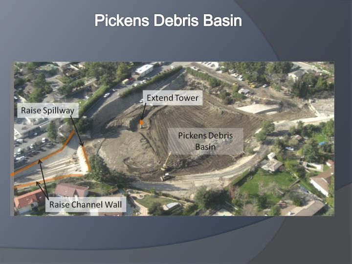 Pickens Debris Basin