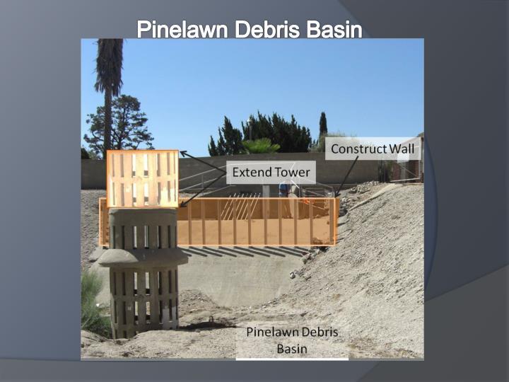 Pinelawn Debris Basin