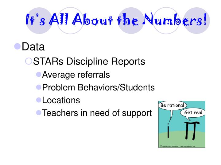 It's All About the Numbers!