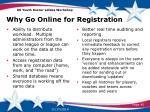 why go online for registration1