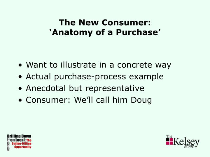The New Consumer: