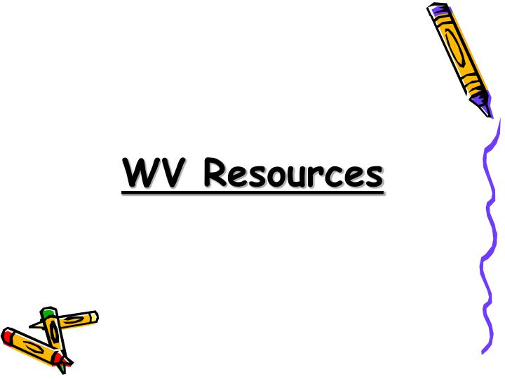 WV Resources
