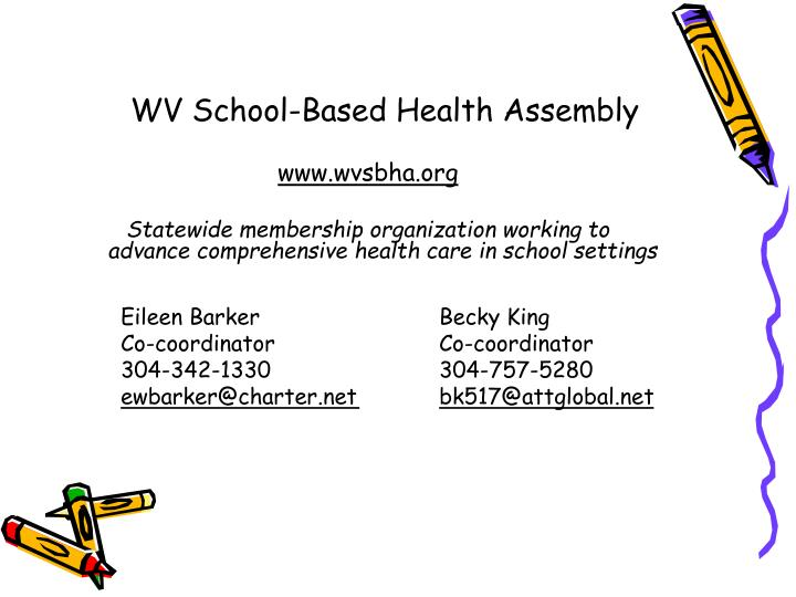 WV School-Based Health Assembly