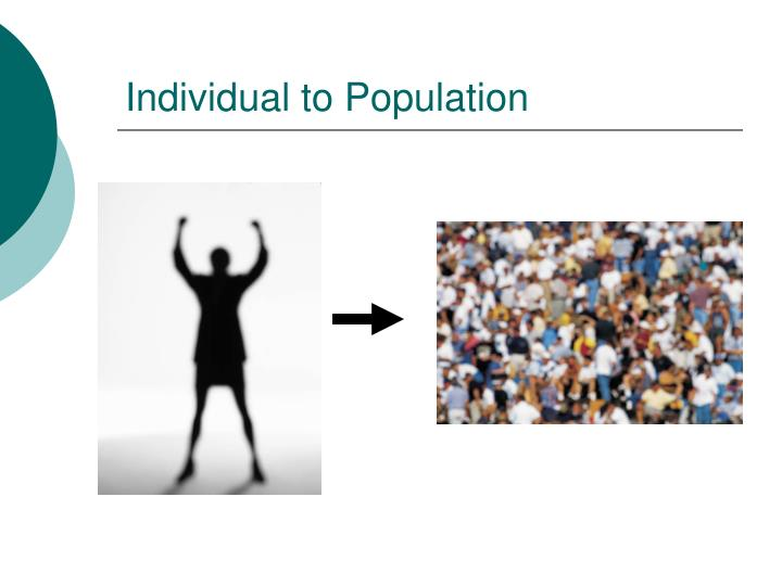 Individual to Population