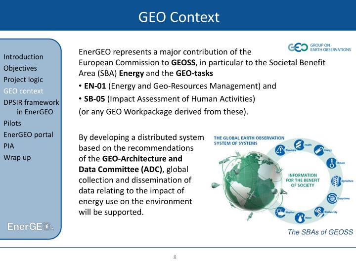 GEO Context