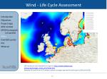 wind life cycle assessment