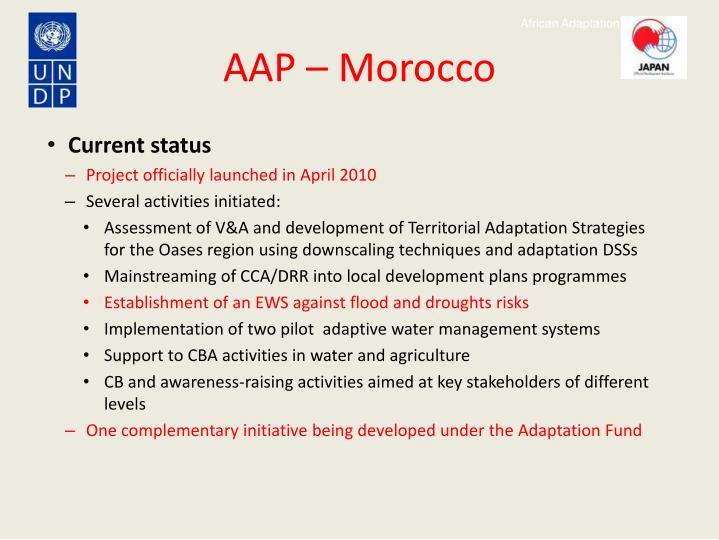 AAP – Morocco