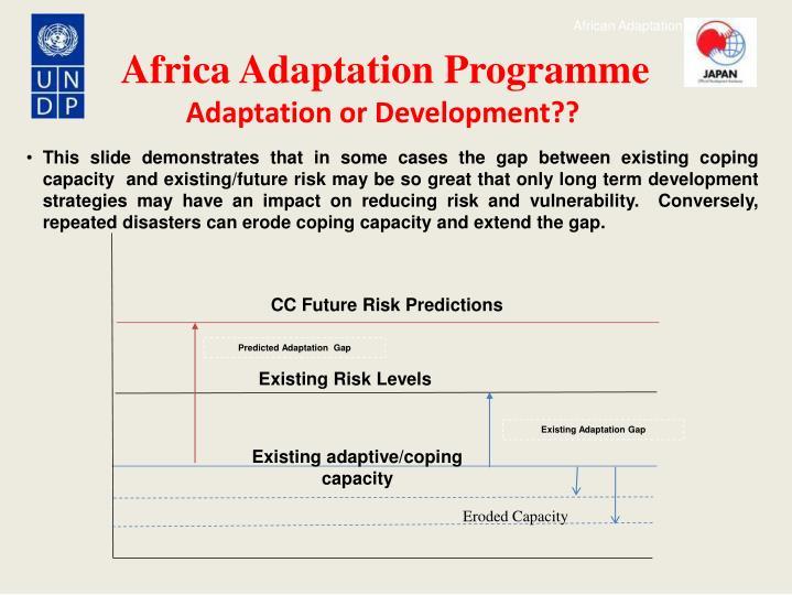 Adaptation or Development??