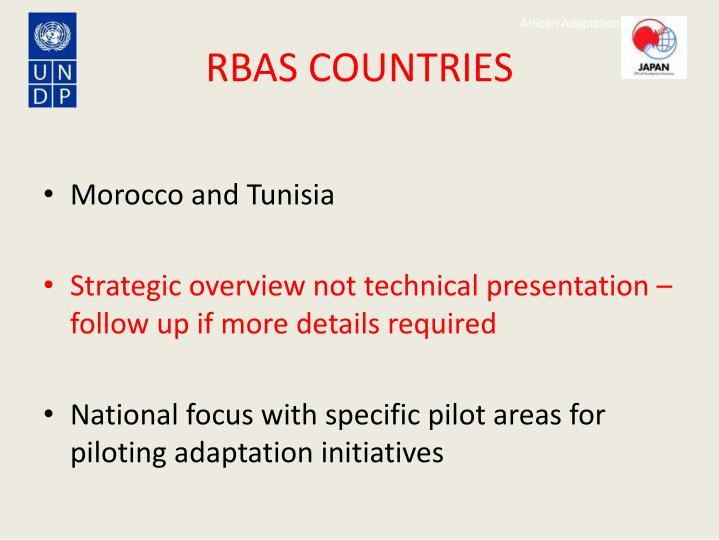 RBAS COUNTRIES