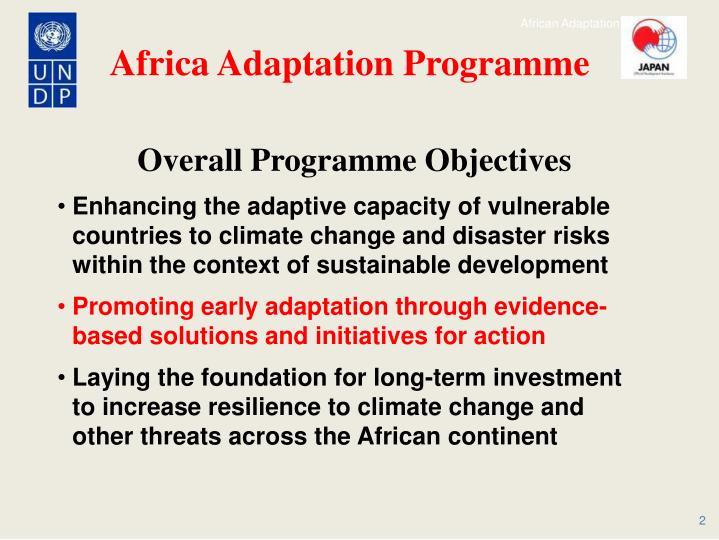 Africa Adaptation Programme