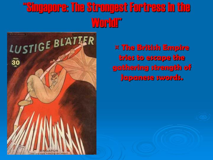 """Singapore: The Strongest Fortress in the World!"""