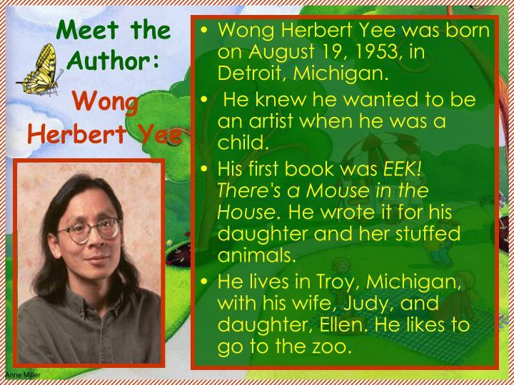 Meet the Author: