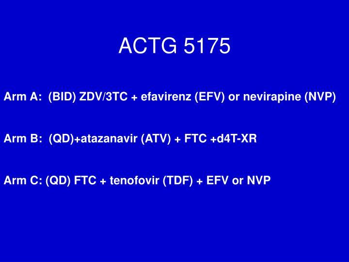 ACTG 5175