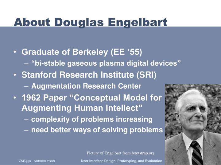 About Douglas Engelbart