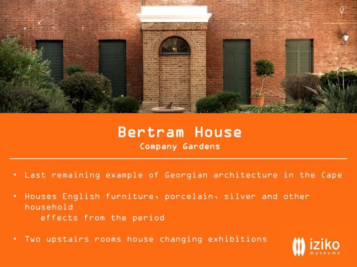 Bertram House