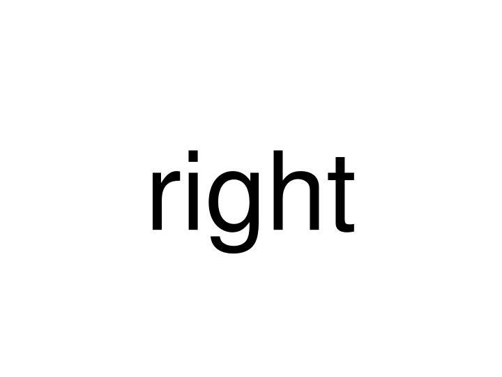 right