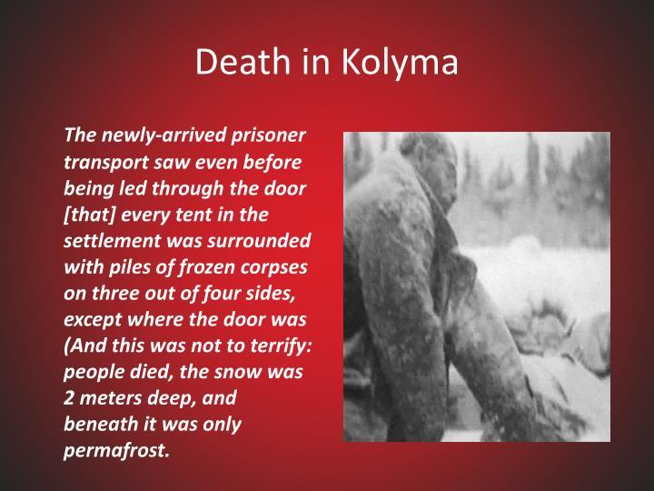 Death in Kolyma