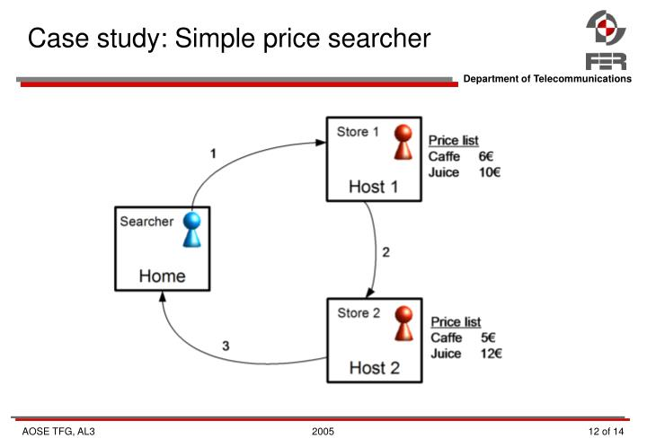 Case study: Simple price searcher