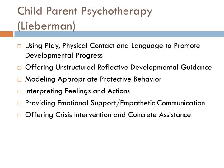Child Parent Psychotherapy (Lieberman)