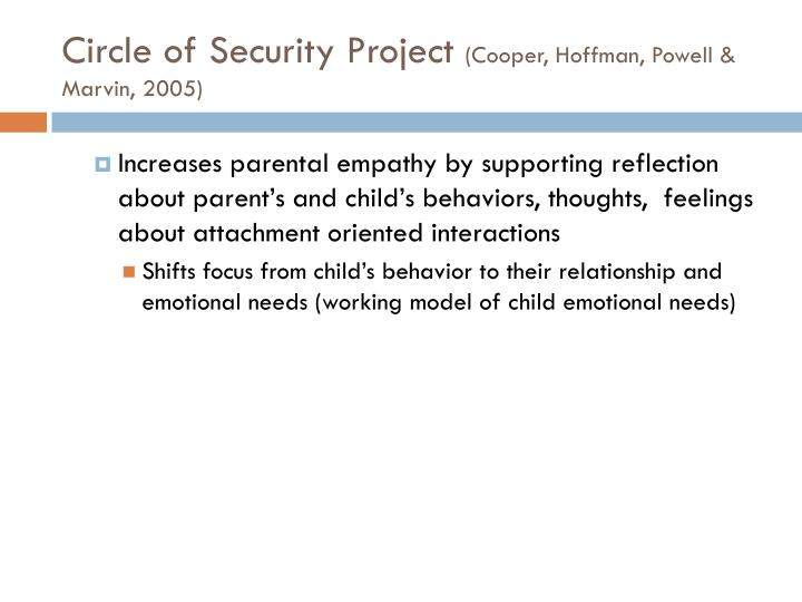 Circle of Security Project