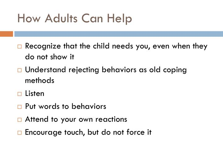 How Adults Can Help