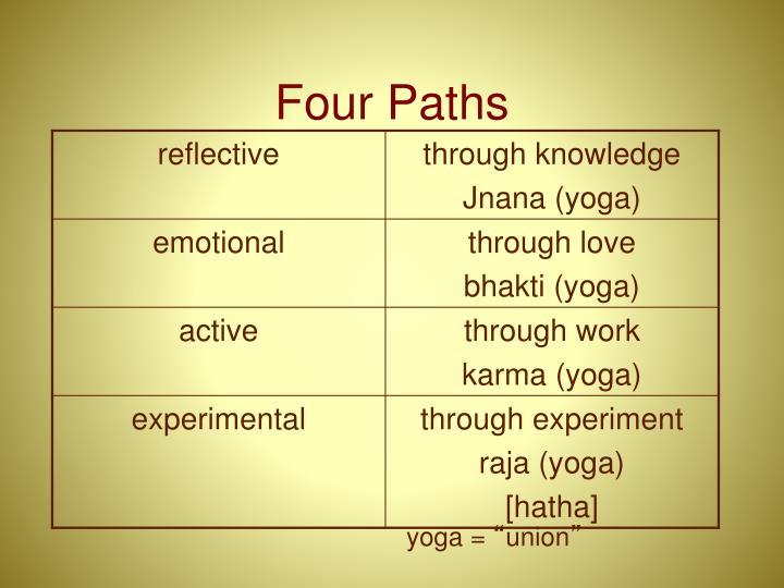 Four Paths