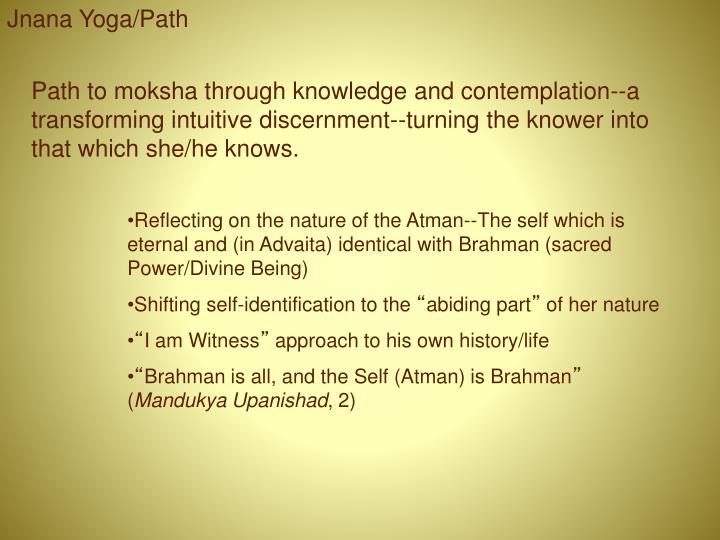 Jnana Yoga/Path