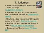 4 judgment