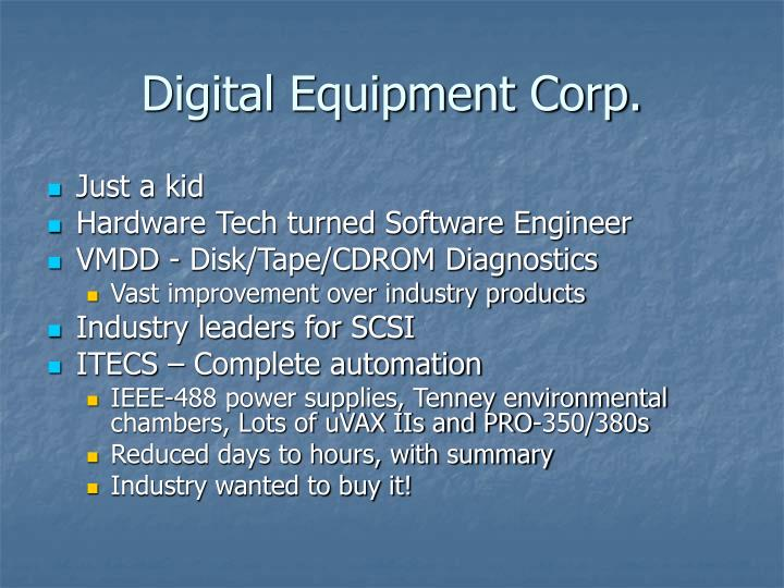 Digital equipment corp