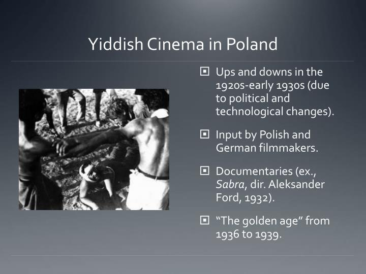Yiddish Cinema in Poland