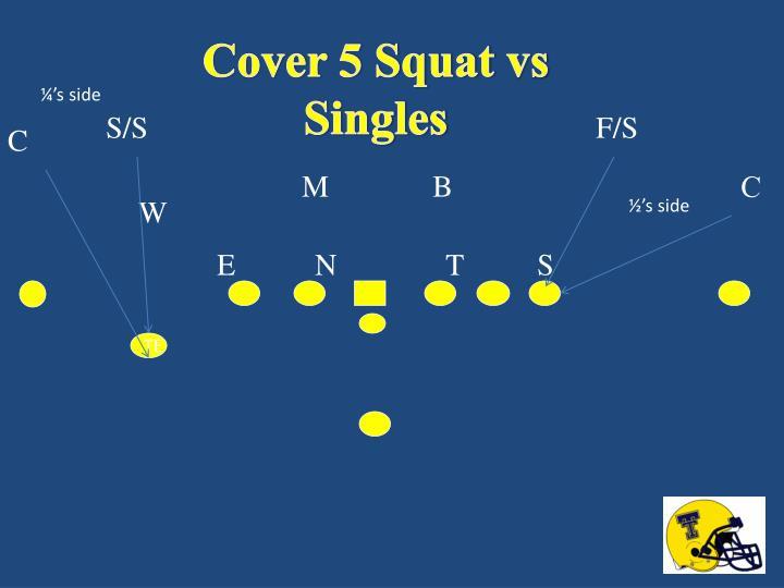 Cover 5 Squat