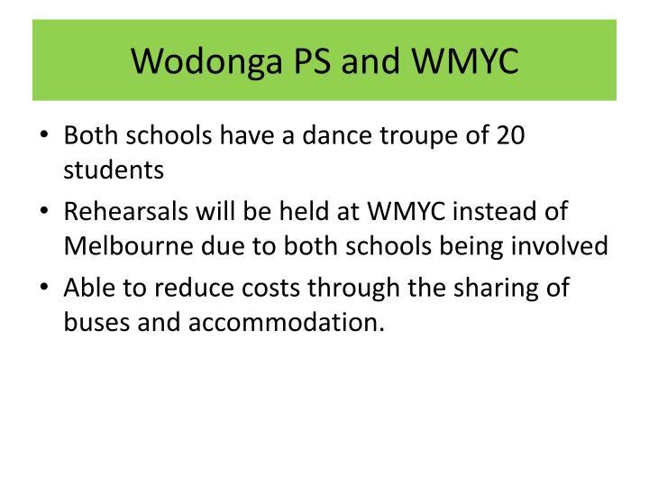 Wodonga PS and WMYC