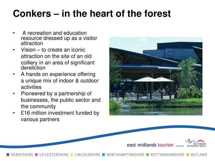 Conkers – in the heart of the forest