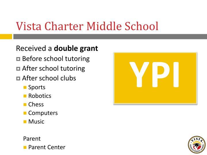 Vista Charter Middle School