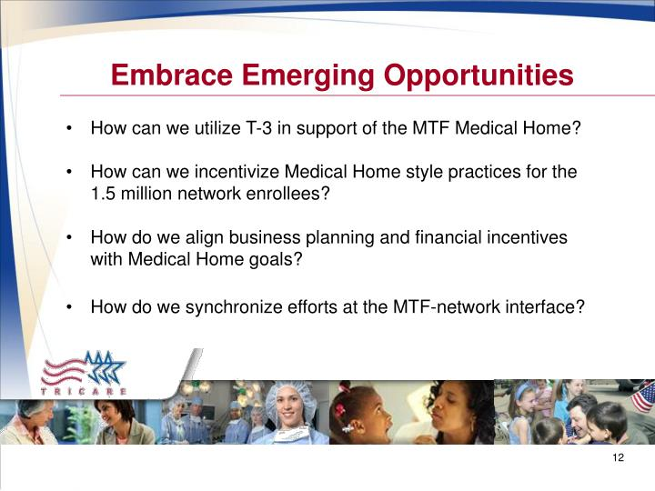 Embrace Emerging Opportunities