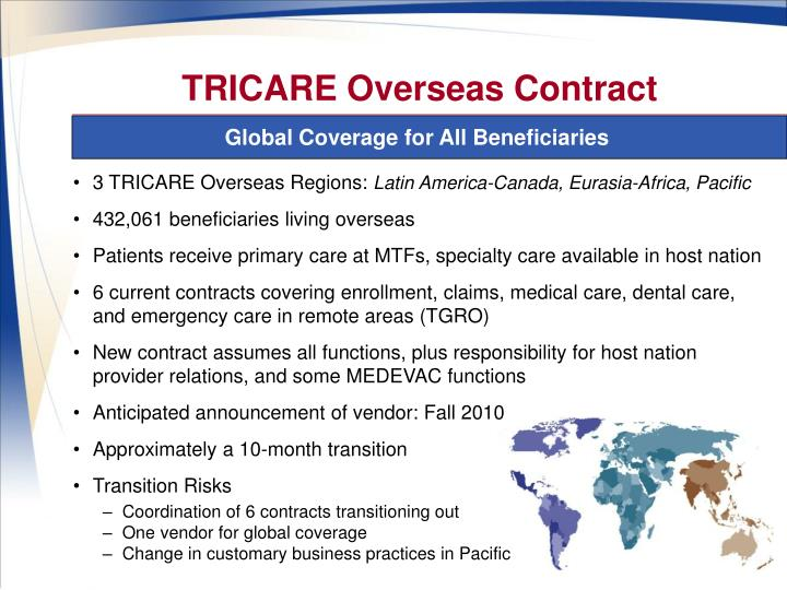 TRICARE Overseas Contract