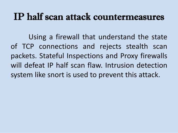 IP half scan