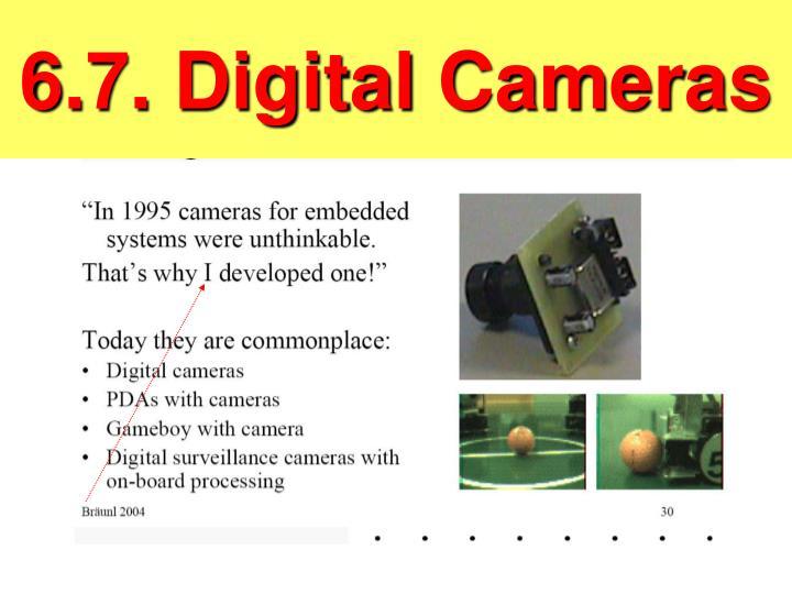 6.7. Digital Cameras